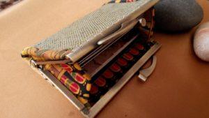 Кошелек холдер для карточек застежка фермуар