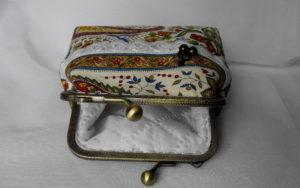 Подкладка кошелька стеганная с синтепоном