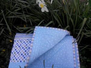Одеяло детское пэчворк