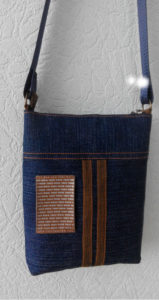 Джинсовая сумочка для мальчика
